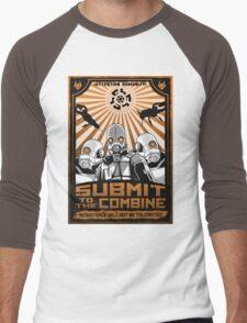 New World Order Men's Baseball ¾ T-Shirt