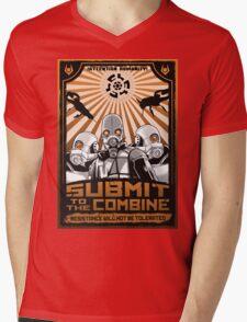 New World Order Mens V-Neck T-Shirt