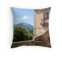 Montemonaco, Le Marche/ITALY Throw Pillow