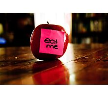 Eat Me  Photographic Print