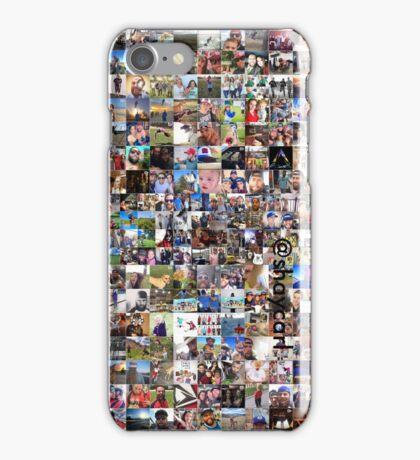 Shaytards - Shaycarl Instagram Grid Collage iPhone Case/Skin