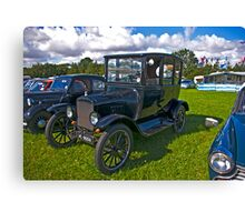 1921 Ford Sedan Model 'T' Canvas Print