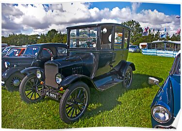 1921 Ford Sedan Model 'T' by Trevor Kersley
