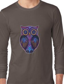 Ornate Owl 9 Long Sleeve T-Shirt
