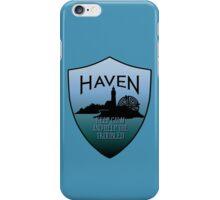 Haven Keep Calm Blue Badge Logo iPhone Case/Skin