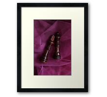 What a cute couple  ( sold one )  Framed Print