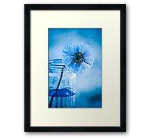 What a blueeeeee day  ~ sold 2 YAY !!! Framed Print