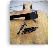 Chop sticks  Metal Print