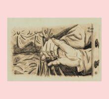 Hands in sepia Kids Tee