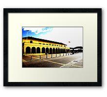 """""""BONDI PAV"""" Framed Print"""
