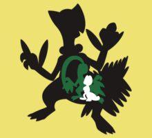 Treecko - Grovyle - Sceptile Baby Tee