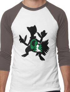 Treecko - Grovyle - Sceptile Men's Baseball ¾ T-Shirt