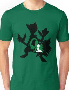 Treecko - Grovyle - Sceptile Unisex T-Shirt