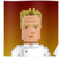 Chef Gordon Ramsay Poster