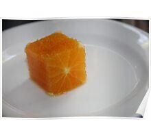Square Orange  Poster