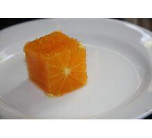 Square Orange  Photographic Print