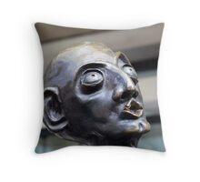 Swanston Street Commuter Throw Pillow