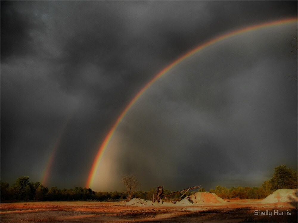 Double Rainbow  by Shelly Harris