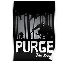 Purge the Xenos - Damaged Poster