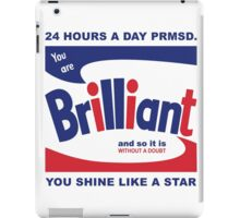 Brillo Brilliant (remembering Andy Warhol) iPad Case/Skin