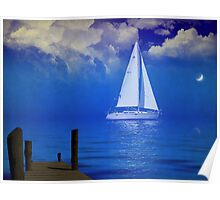 Sailing by the Moonlight Poster