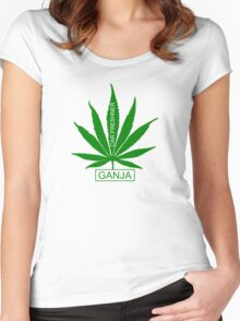 GANJA CAR FRESHNER Women's Fitted Scoop T-Shirt
