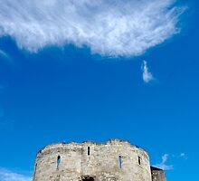 Cliffords Tower - York, England (English Heritage) by Rees Adams