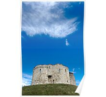 Cliffords Tower - York, England (English Heritage) Poster