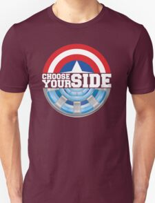 Civil War - Choose Your Side Unisex T-Shirt
