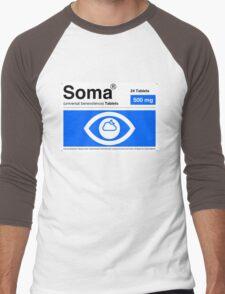 Soma Men's Baseball ¾ T-Shirt
