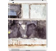 Cows in stable iPad Case/Skin