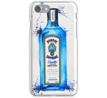 Bombay Sapphire Gin Bottle iPhone Case/Skin