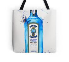 Bombay Sapphire Gin Bottle Tote Bag