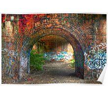 Urban decay-under the bridge Poster