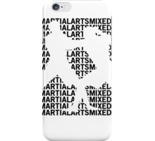 Mixed Martial Arts Cage Fighting iPhone Case/Skin