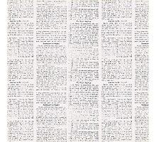 Newspaper Photographic Print