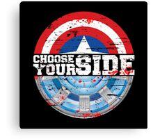 Civil War - Choose Your Side Canvas Print