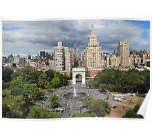 Washington Square Park Poster