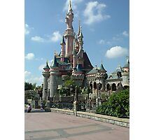 Disneyland Paris castle Photographic Print