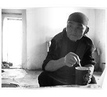 Elderly Kyrgyz Woman Poster