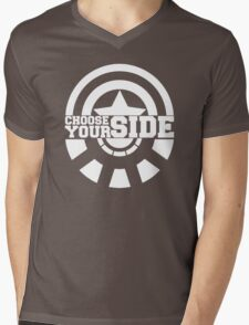 Civil War - Choose Your Side Mens V-Neck T-Shirt