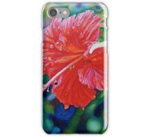 Tropical Hibiscus iPhone Case/Skin