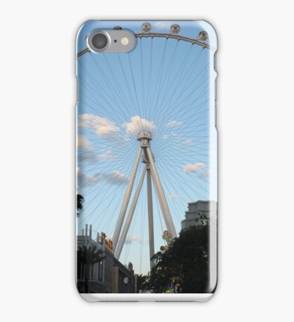 The High Roller in Las Vegas......... iPhone Case/Skin