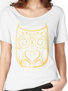 abstract owl Women's Relaxed Fit T-Shirt