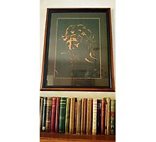 Christianity and Books Photographic Print
