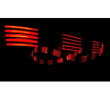 bright red lines Photographic Print
