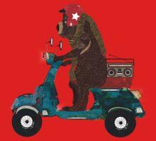 scooter bear Baby Tee