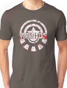 Civil War - Choose Your Side Unisex T-Shirt