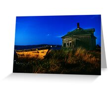 The breakwater - Yarmouth, NS Greeting Card