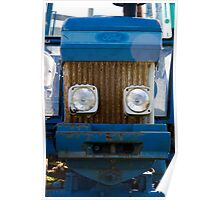 happy tractor Poster